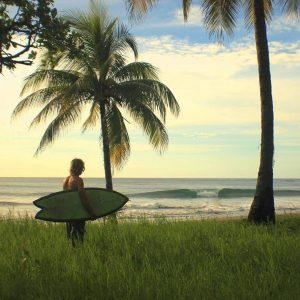 Surfing Playa Avellanas in Costa Rica