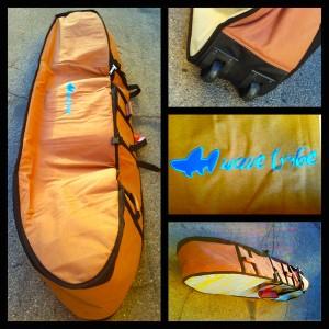 wave tribe wheeled travel boardbag