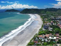 Jaco-Costa-Rica-view-of-beach-town