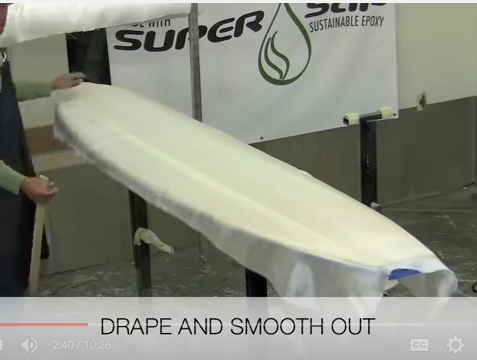 Grain Surfboard Laminating Tutorial Entropy Resins