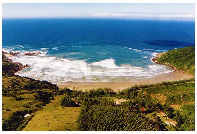 Praia Vermelha, Garopaba, Santa Catarina, Brazil.