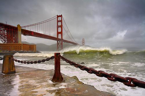 San Francisco: Green Surfer's Message
